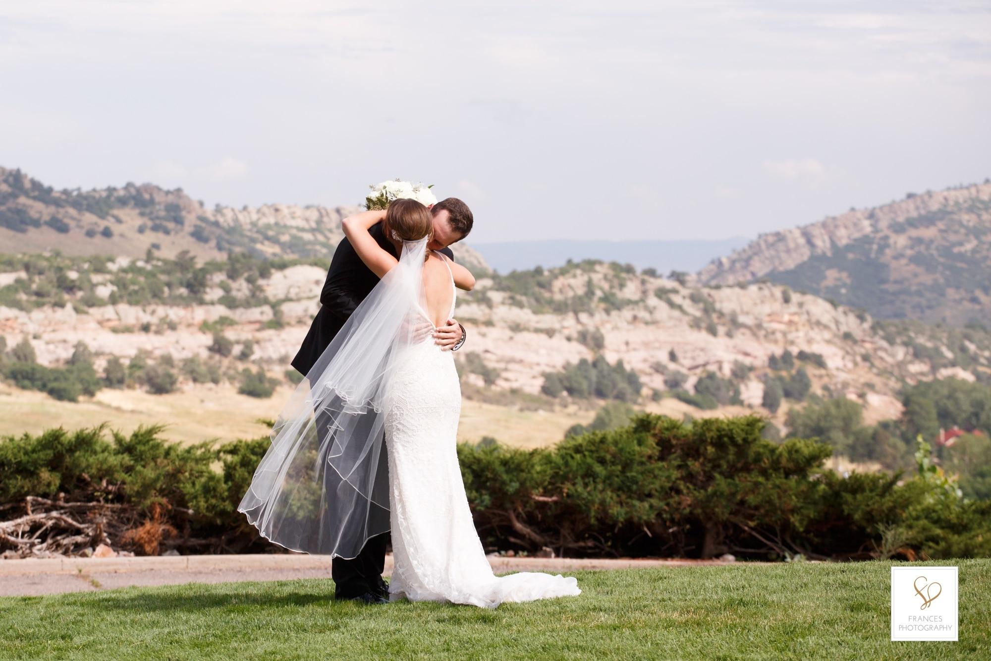 wedding photos bride groom frances photography
