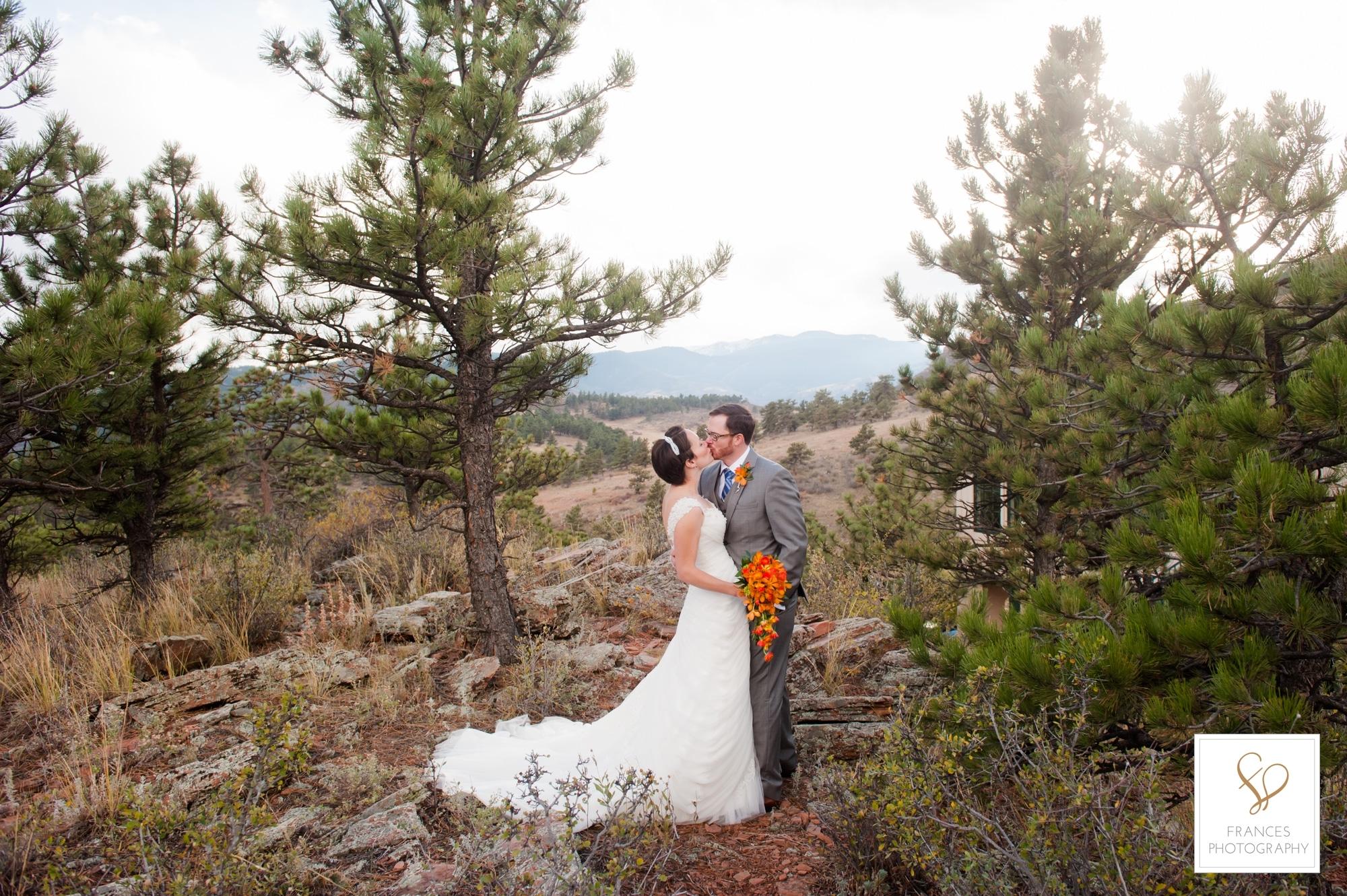 wedding photos bride colorado wedding venues